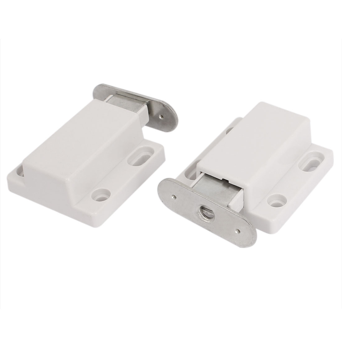 Furniture Cupboard Cabinet Door Magnetic Catch Latch Stopper 2 Pcs