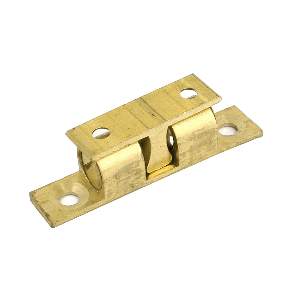 Drawer Cupboard Cabinet Door Brass Double Ball Catch Roller Latch