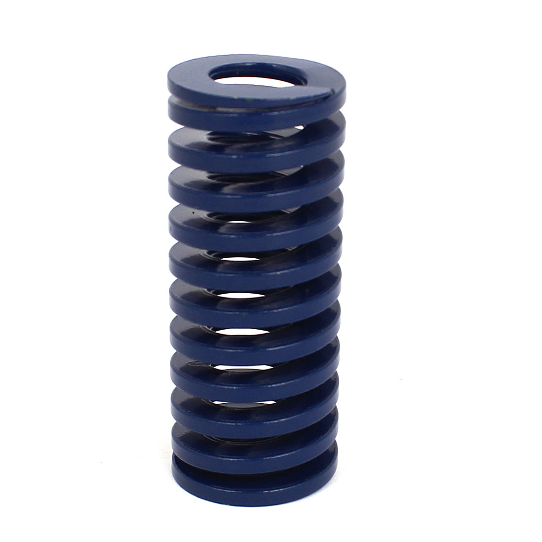 25mm OD 60mm Long Coil Light Load Stamping Compression Mold Die Spring Blue
