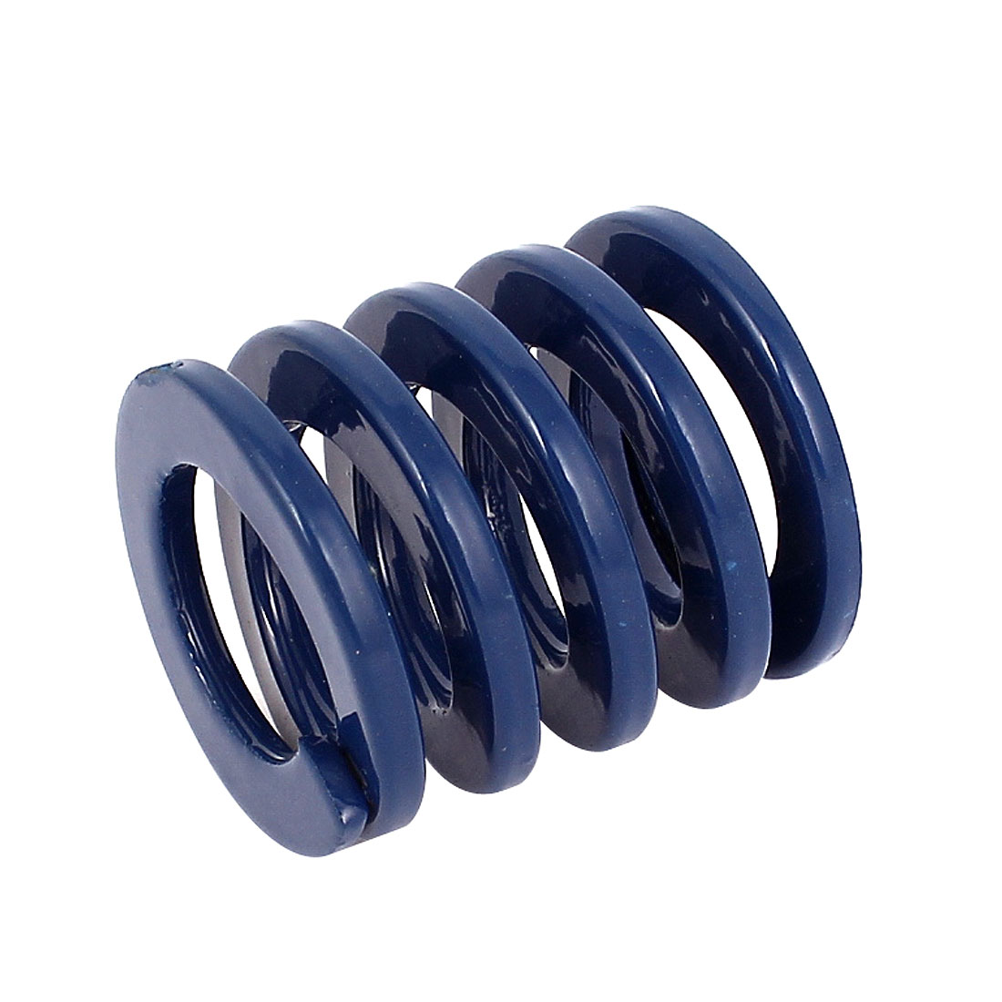 30mm OD 30mm Long Coil Light Load Stamping Compression Mold Die Spring Blue