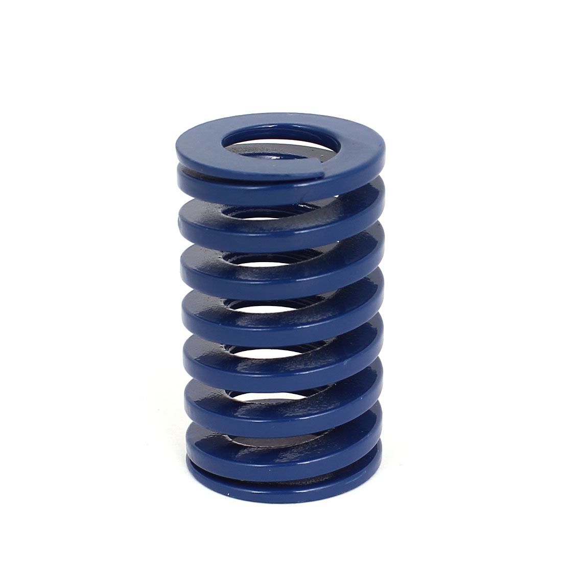 30mm OD 50mm Long Coil Light Load Stamping Compression Mold Die Spring Blue