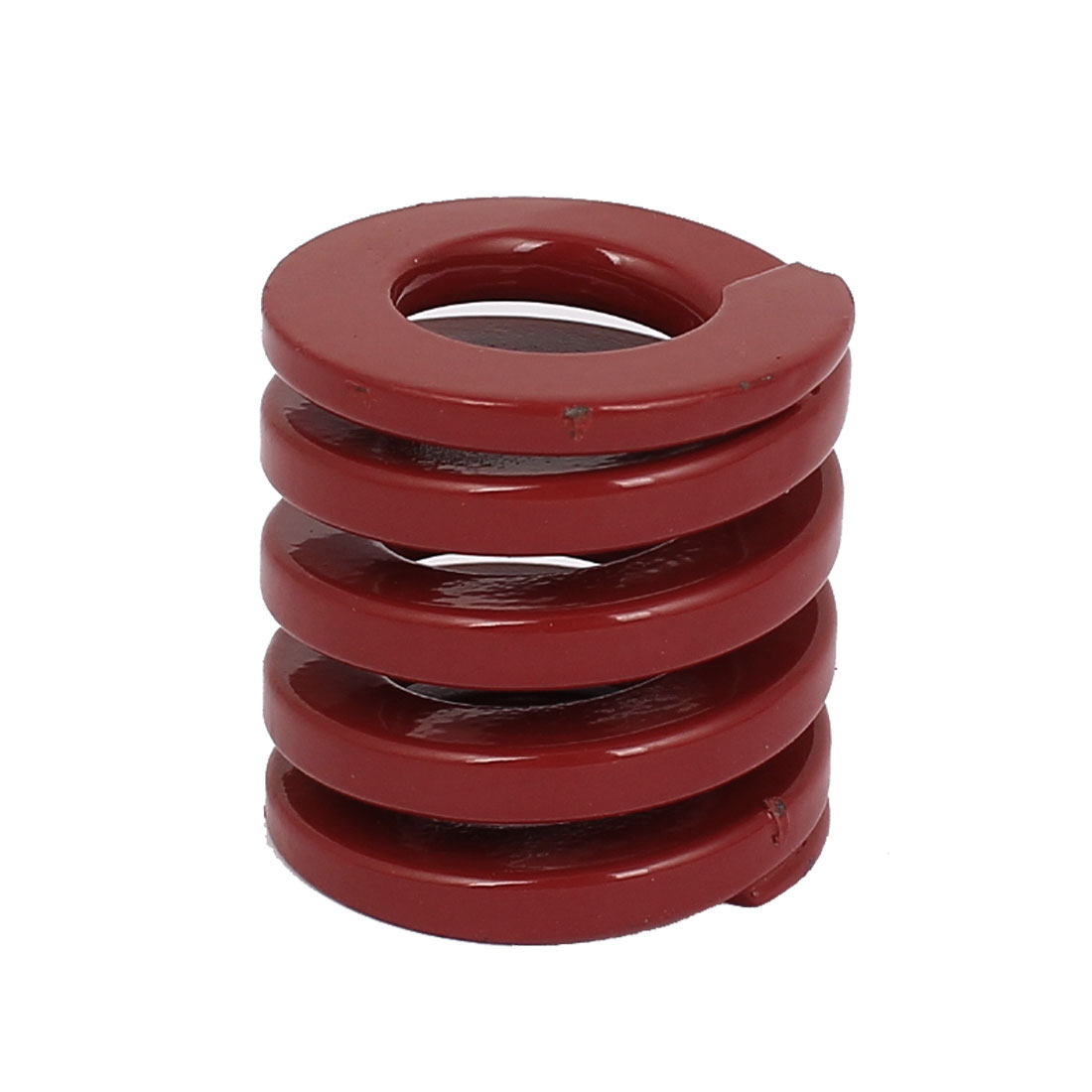 30mm OD 30mm Long Coil Medium Load Stamping Compression Mold Die Spring Red