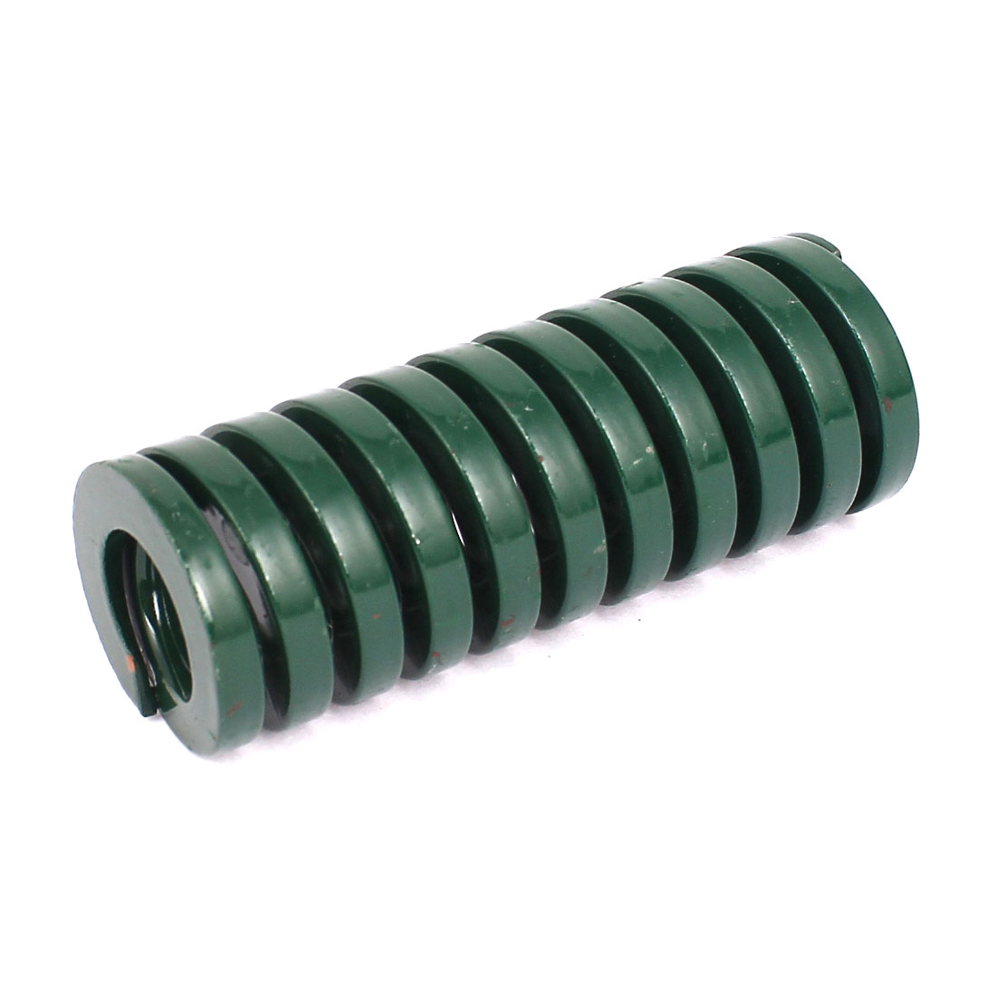 30mm OD 80mm Long Heavy Load Coil Stamping Compression Mold Die Spring Green