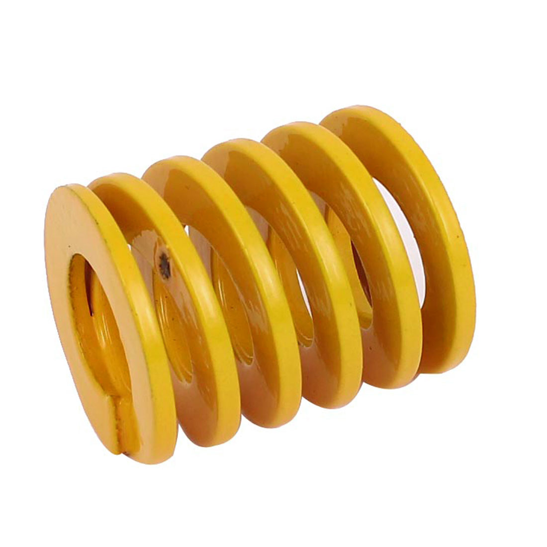 25mm OD 30mm Long Light Load Coil Stamping Compression Mold Die Spring Yellow