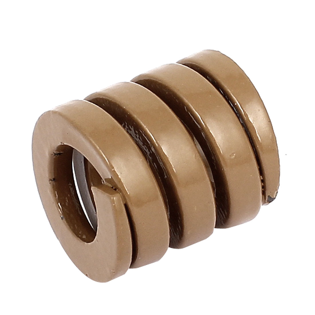 20mm OD 20mm Long Heavy Load Coil Stamping Compression Mold Die Spring Brown