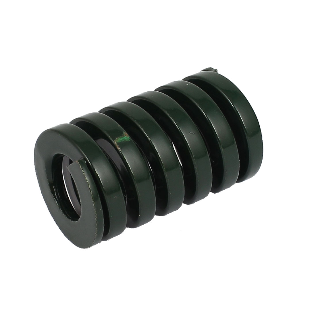 25mm OD 40mm Long Heavy Load Coil Stamping Compression Mold Die Spring Green