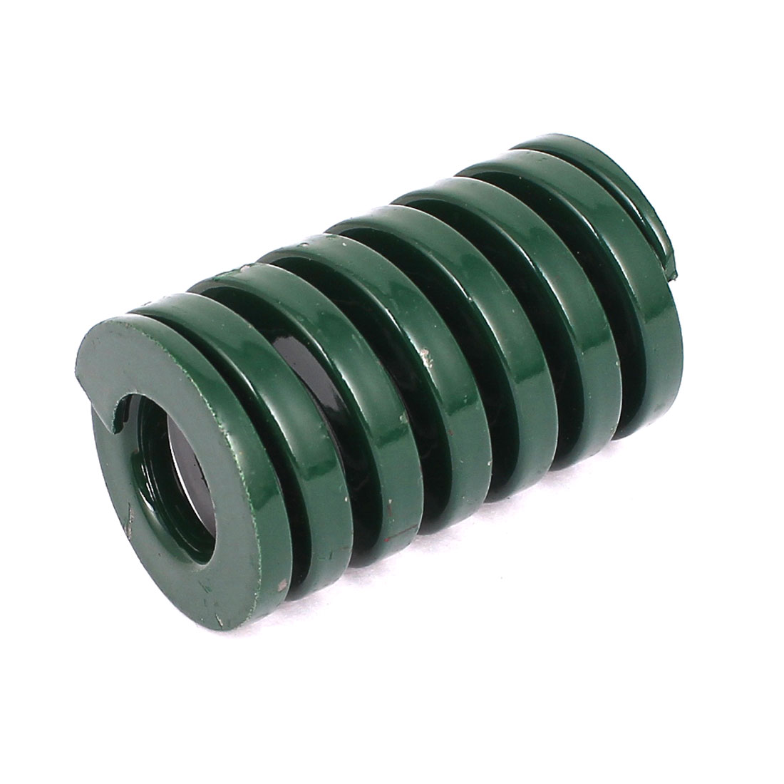 30mm OD 50mm Long Heavy Load Coil Stamping Compression Mold Die Spring Green