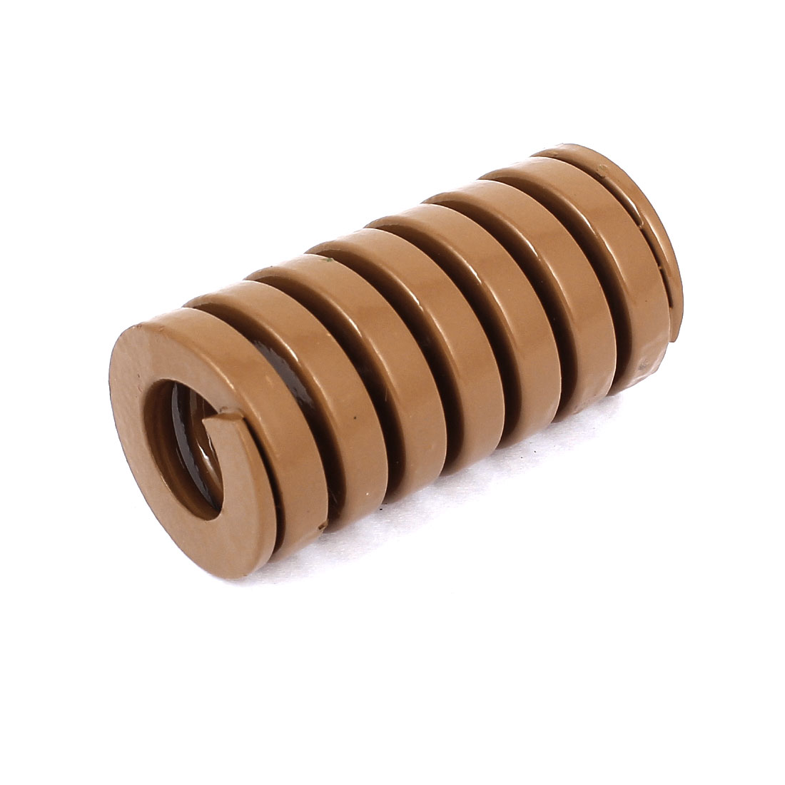 30mm OD 60mm Long Heavy Load Coil Stamping Compression Mold Die Spring Brown