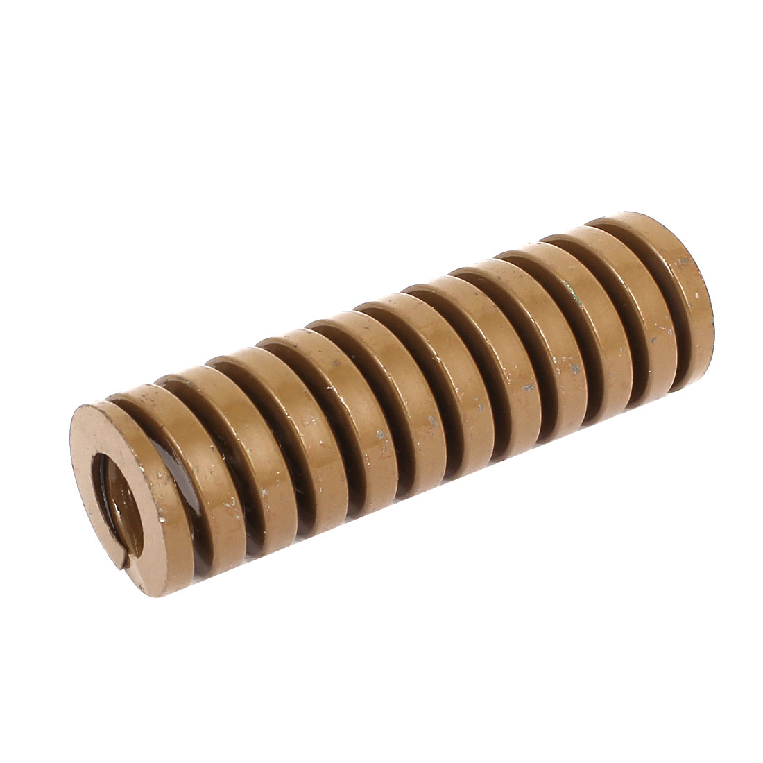 25mm OD 80mm Long Heavy Load Coil Stamping Compression Mold Die Spring Brown