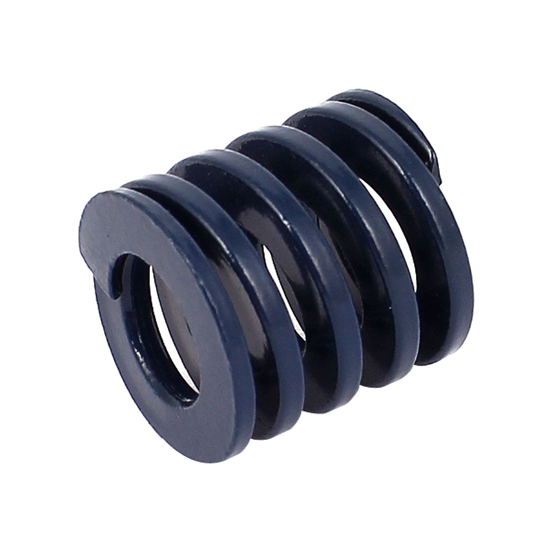 20mm OD 20mm Long Coil Light Load Stamping Compression Mold Die Spring Blue