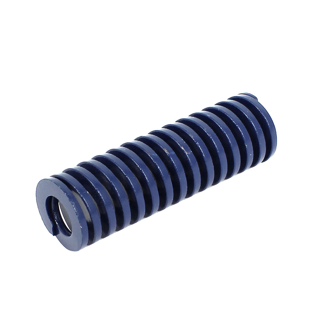 25mm OD 80mm Long Coil Light Load Stamping Compression Mold Die Spring Blue