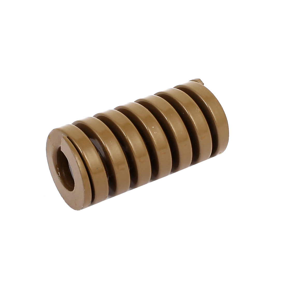 25mm OD 50mm Long Heavy Load Coil Stamping Compression Mold Die Spring Brown