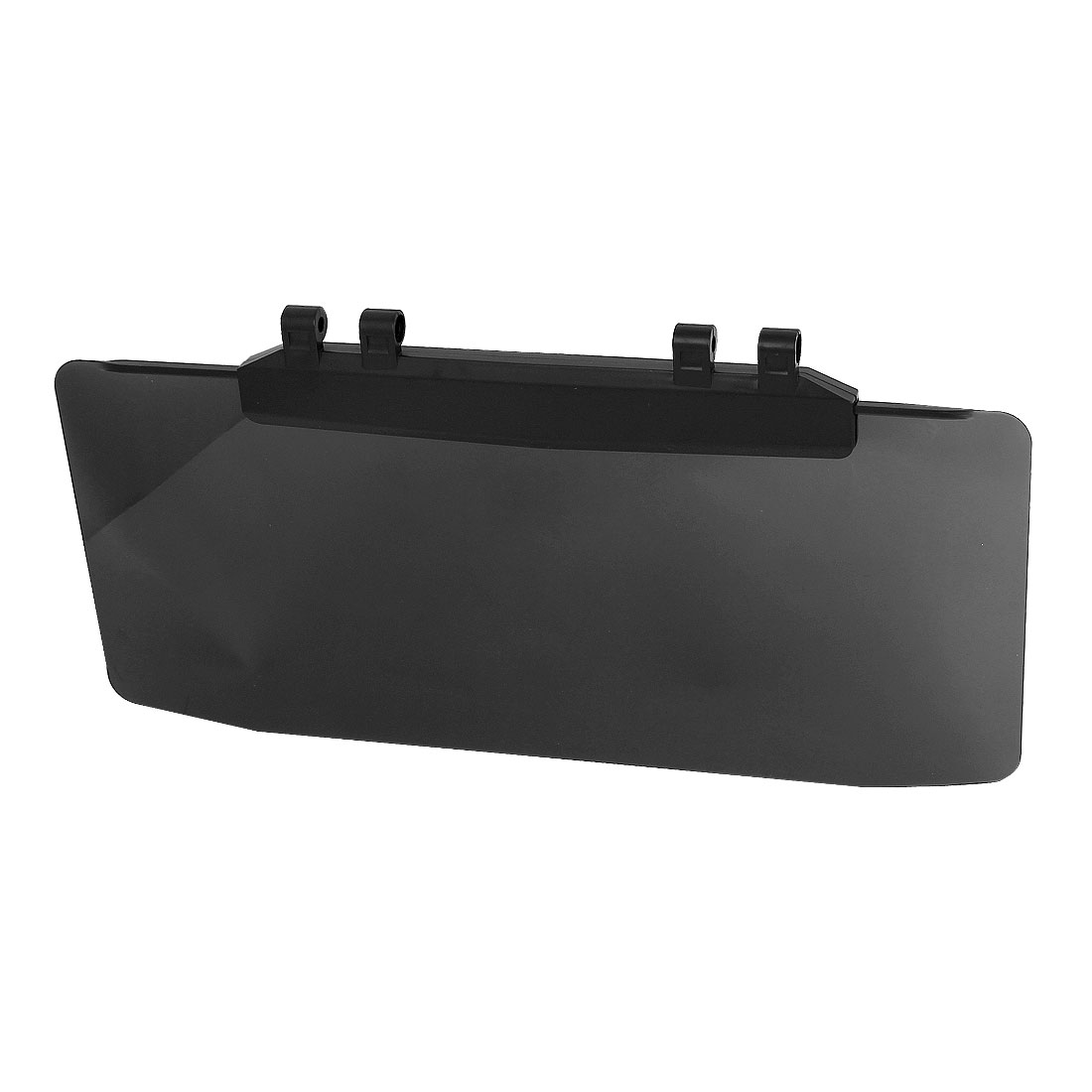 Auto Vehicle Windscreen Window Slider Sun Visor Guard Shade Sunshade Black