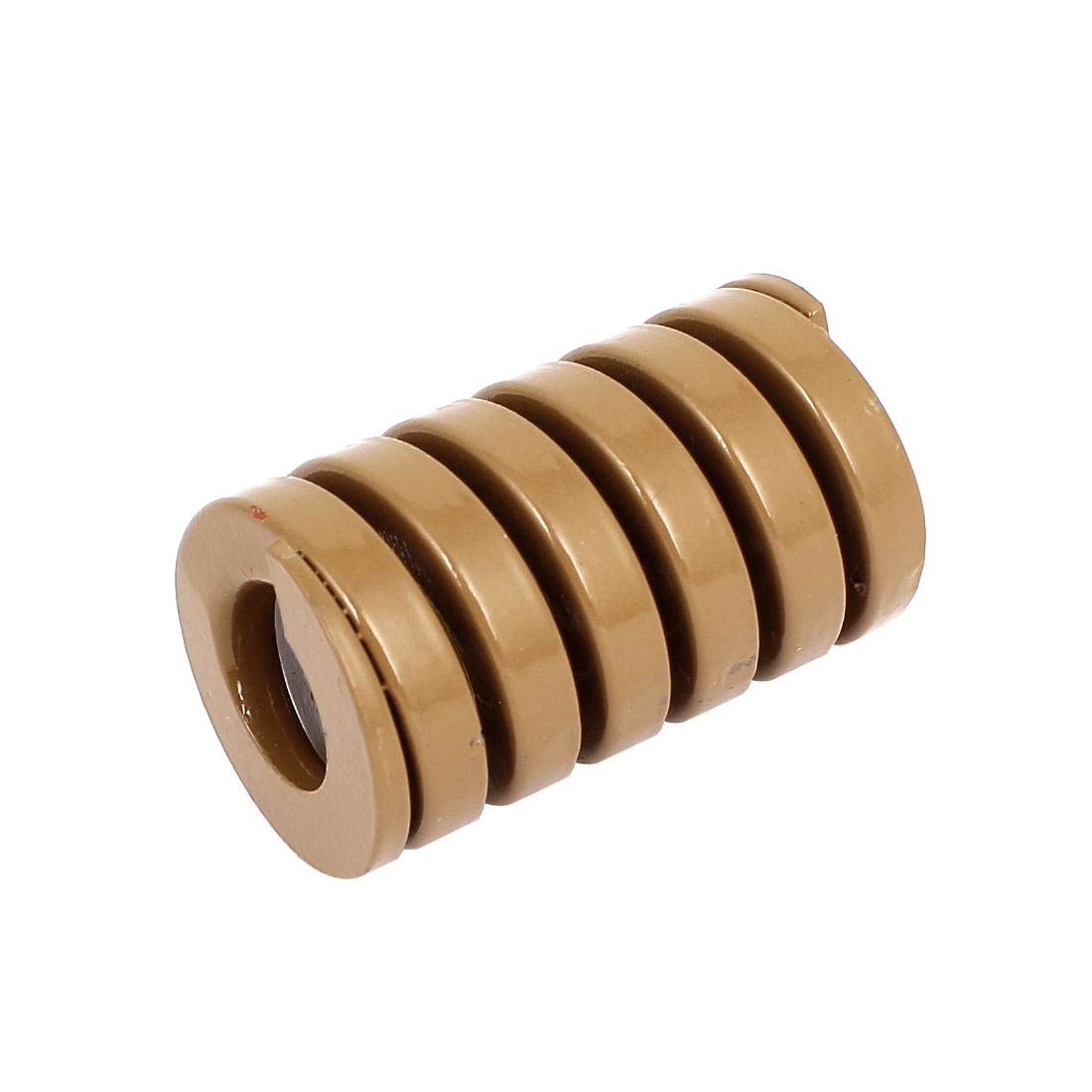 30mm OD 50mm Long Heavy Load Coil Stamping Compression Mold Die Spring Brown