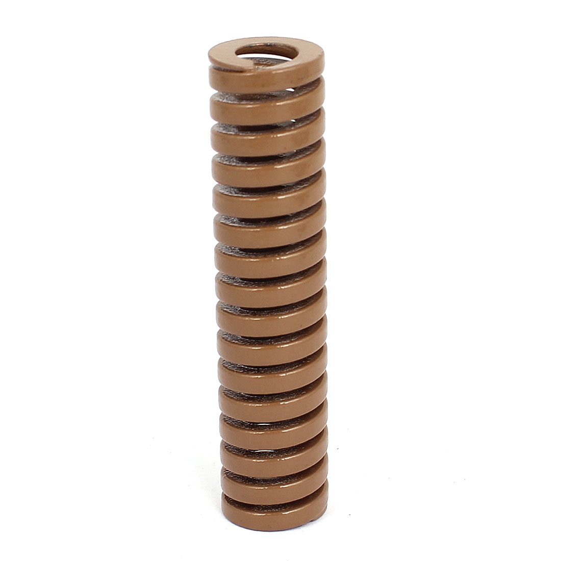 16mm OD 70mm Long Heavy Load Coil Stamping Compression Mold Die Spring Brown