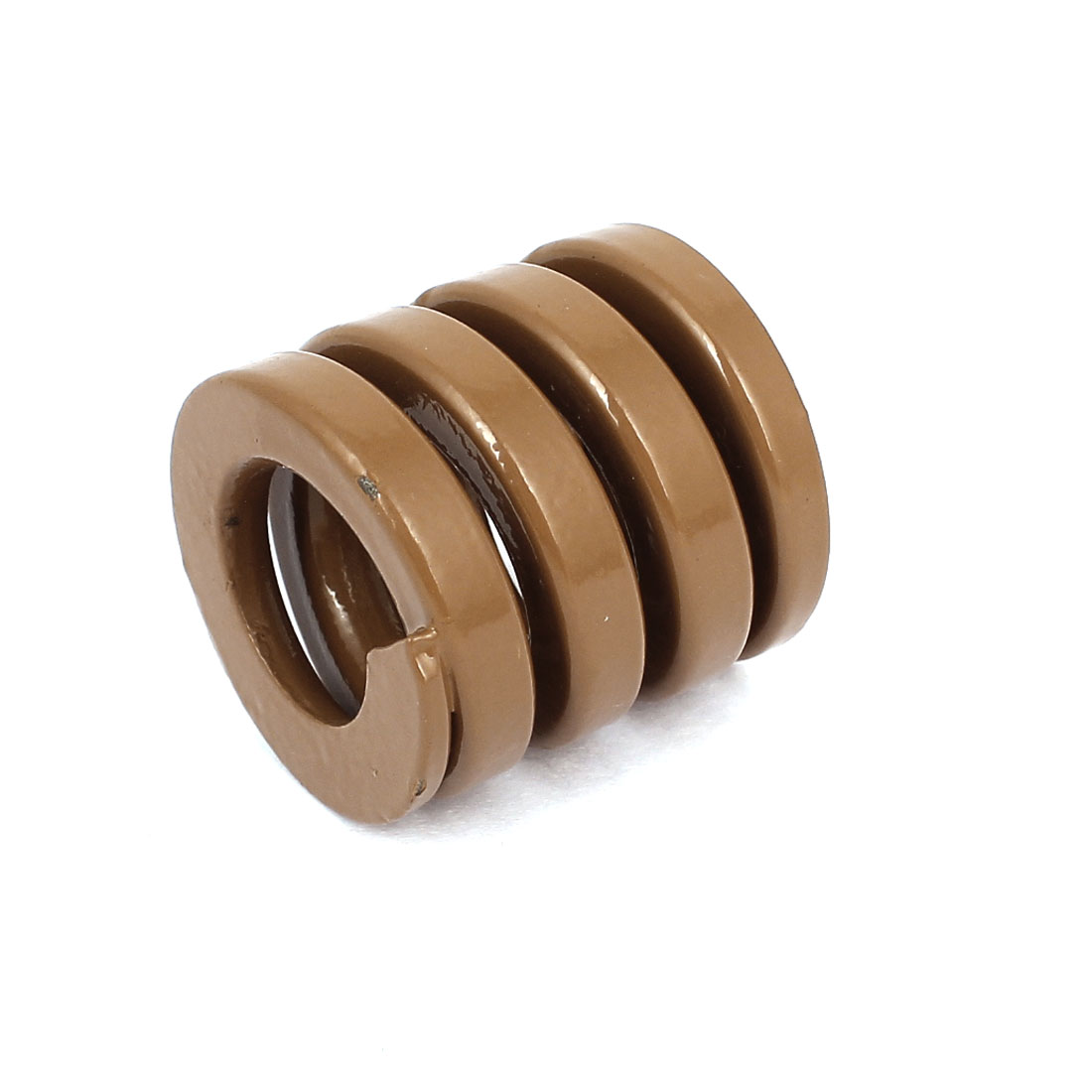 30mm OD 30mm Long Heavy Load Coil Stamping Compression Mold Die Spring Brown
