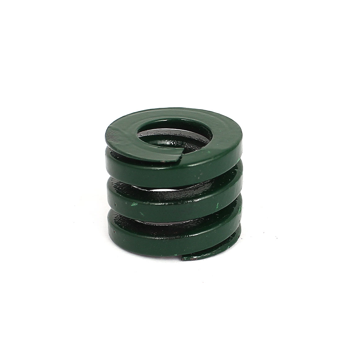 25mm OD 20mm Long Heavy Load Coil Stamping Compression Mold Die Spring Green
