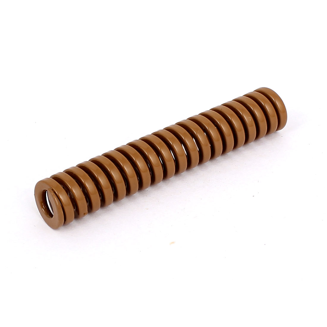 14mm OD 80mm Long Heavy Load Coil Stamping Compression Mold Die Spring Brown
