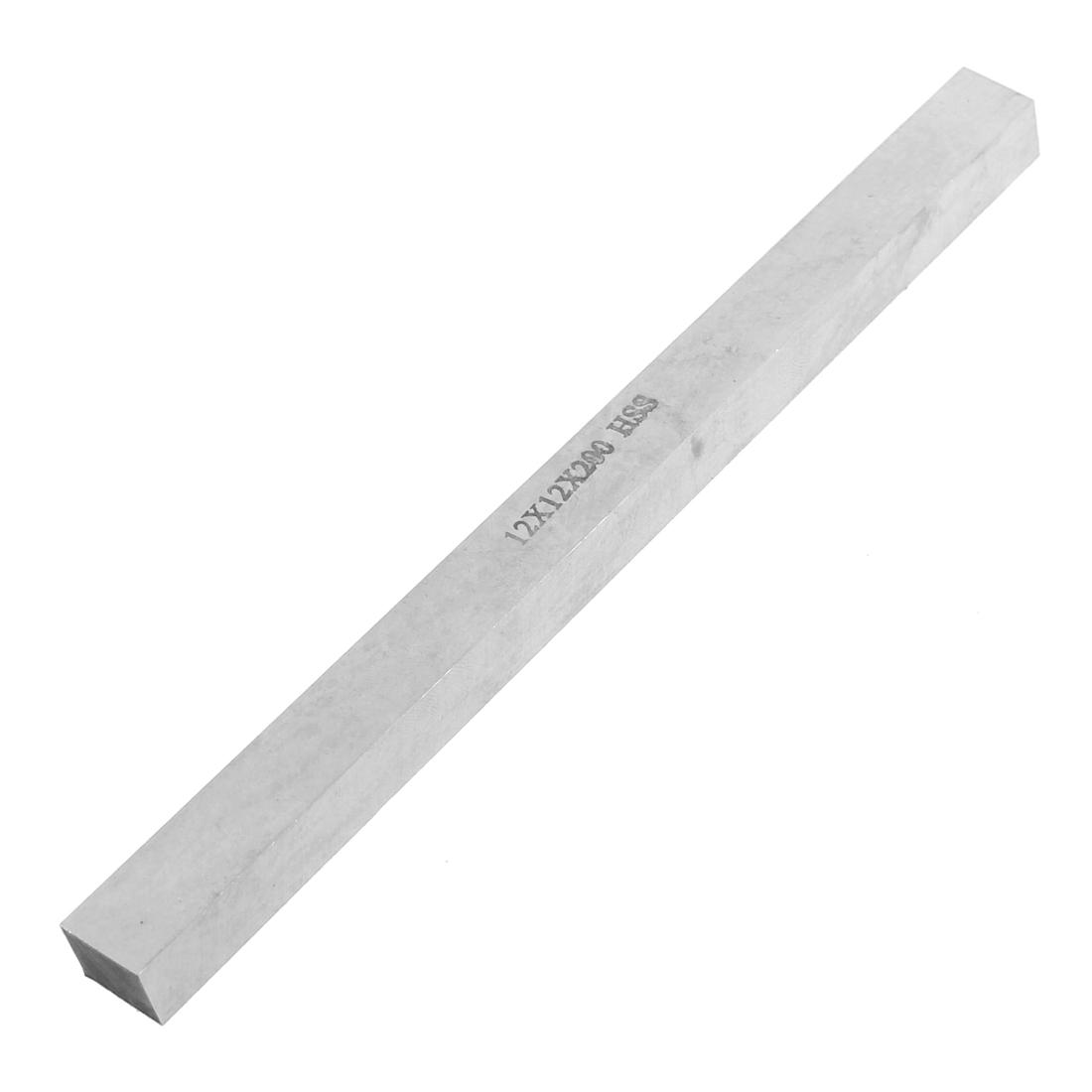 CNC Lathe HSS Bit Cutting Boring Bar Cutter Tool 12mmx12mmx200mm