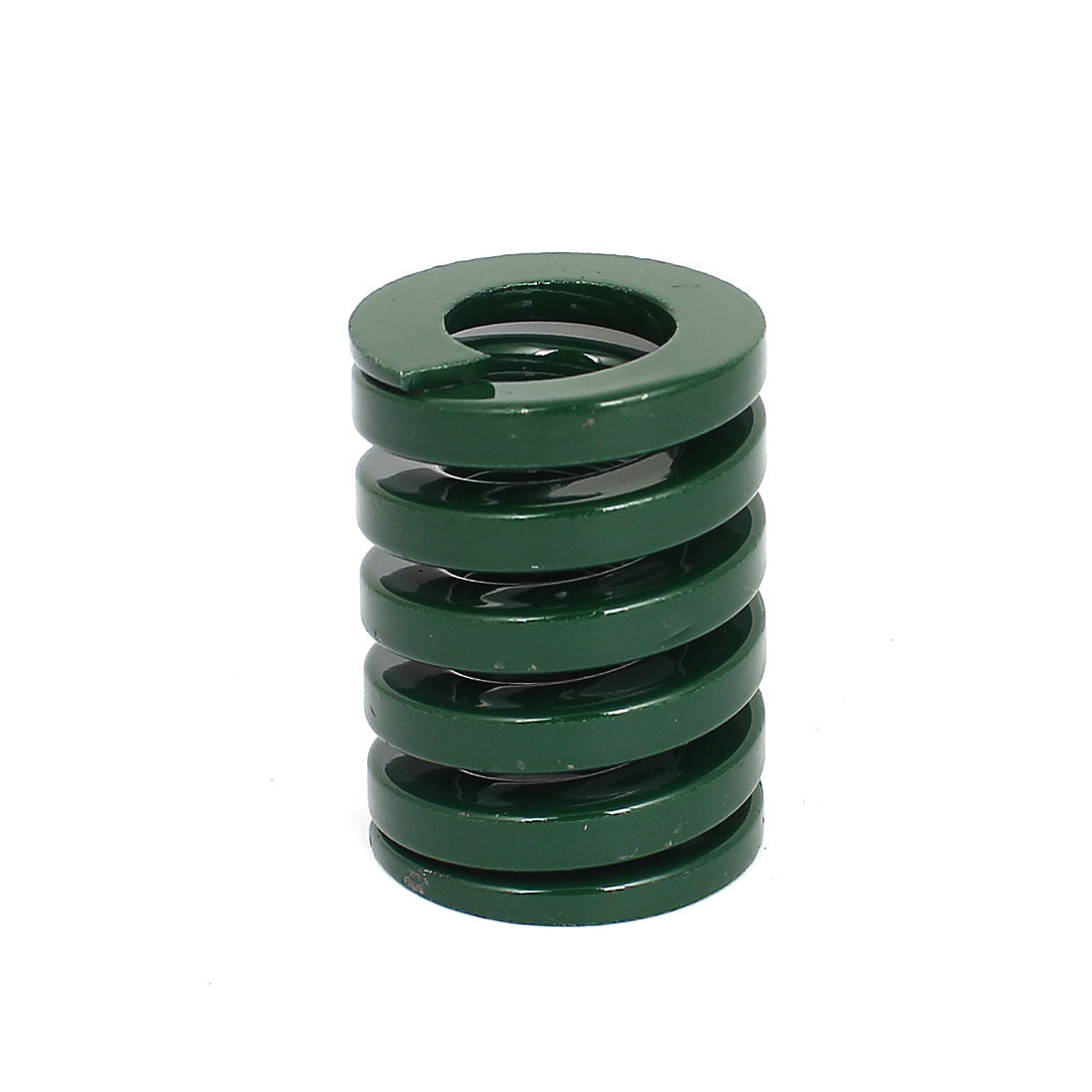 30mm OD 40mm Long Heavy Load Coil Stamping Compression Mold Die Spring Green