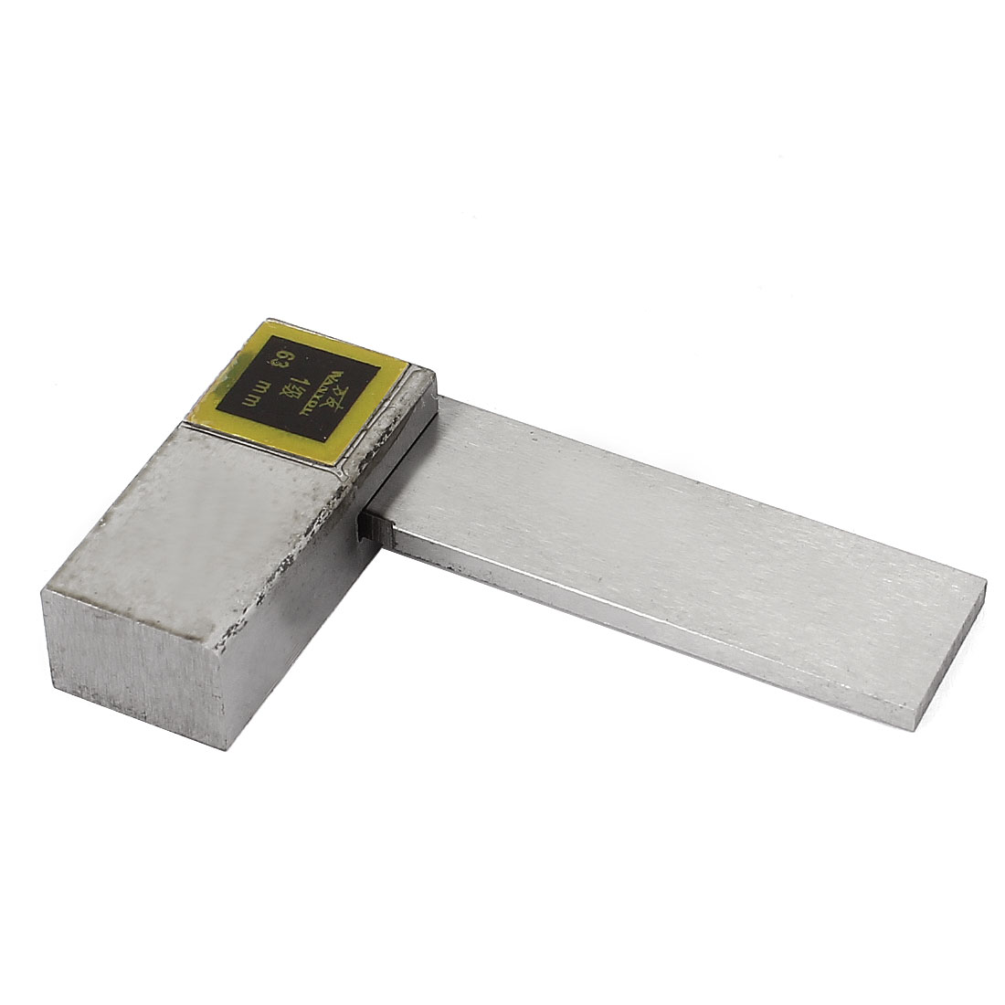 63mm x 40mm Metal L Shaped 90 Degree Angle Try Square Ruler Measuring Tool