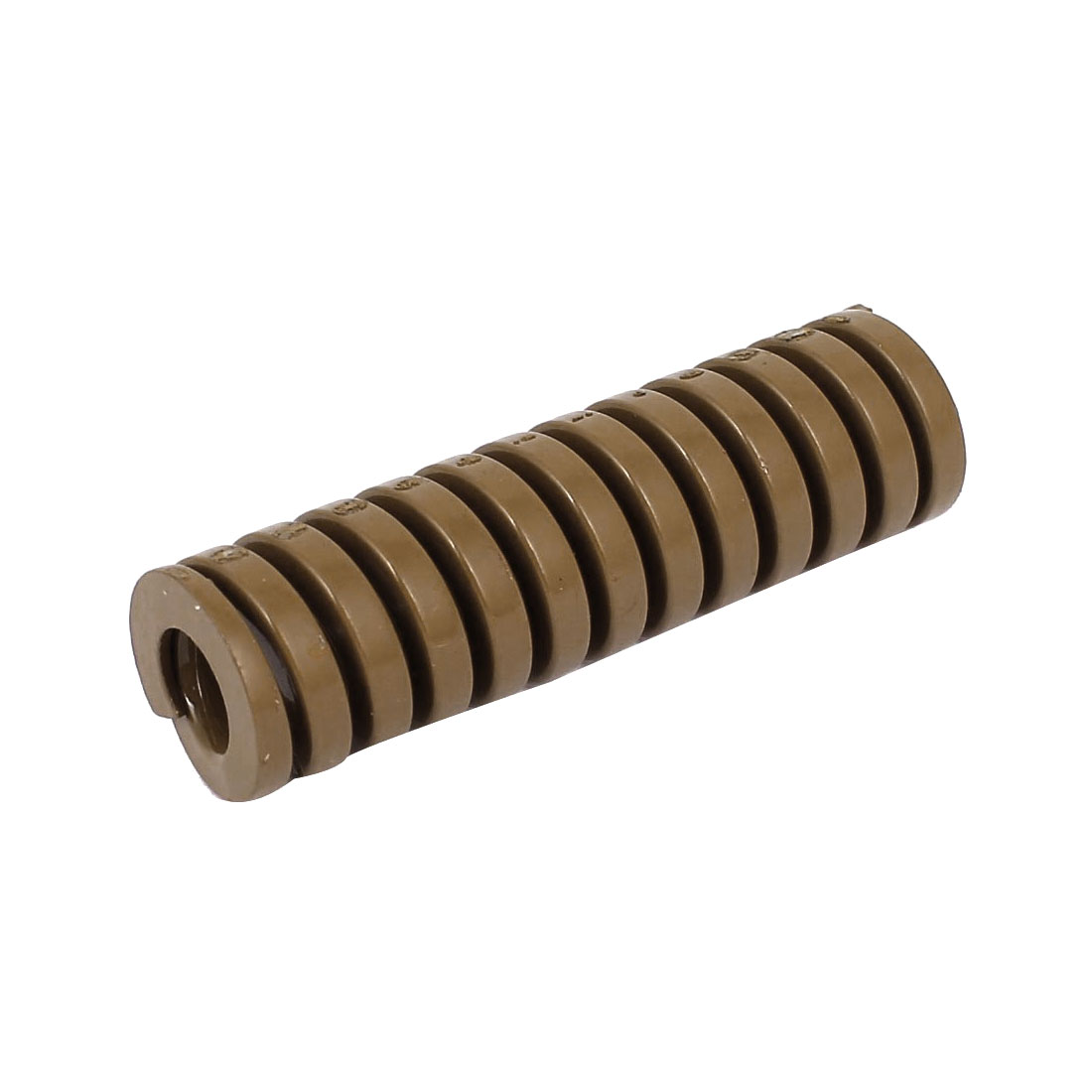 20mm OD 70mm Long Heavy Load Coil Stamping Compression Mold Die Spring Brown