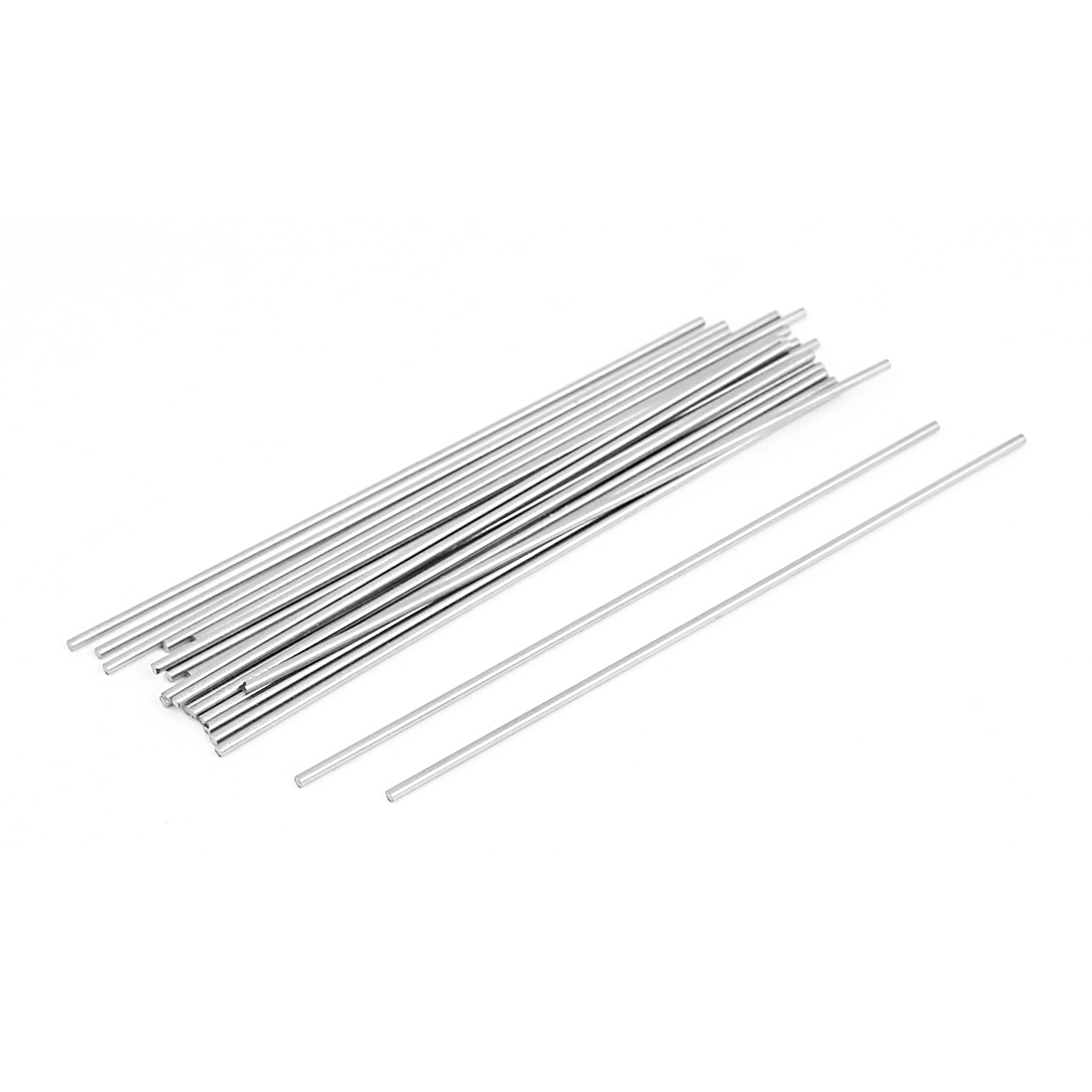 20 Pcs Steel Rod Bar Round Stock Lathe Tools 1.5mm Dia 100mm Length