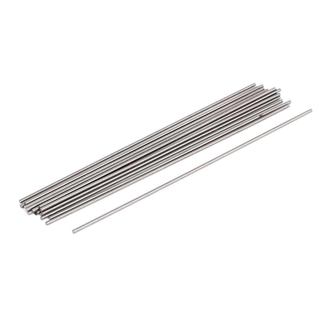 Machine Grooving Tool Steel Lathe Bars Round Stock 1.2mmx100mm 20 Pcs