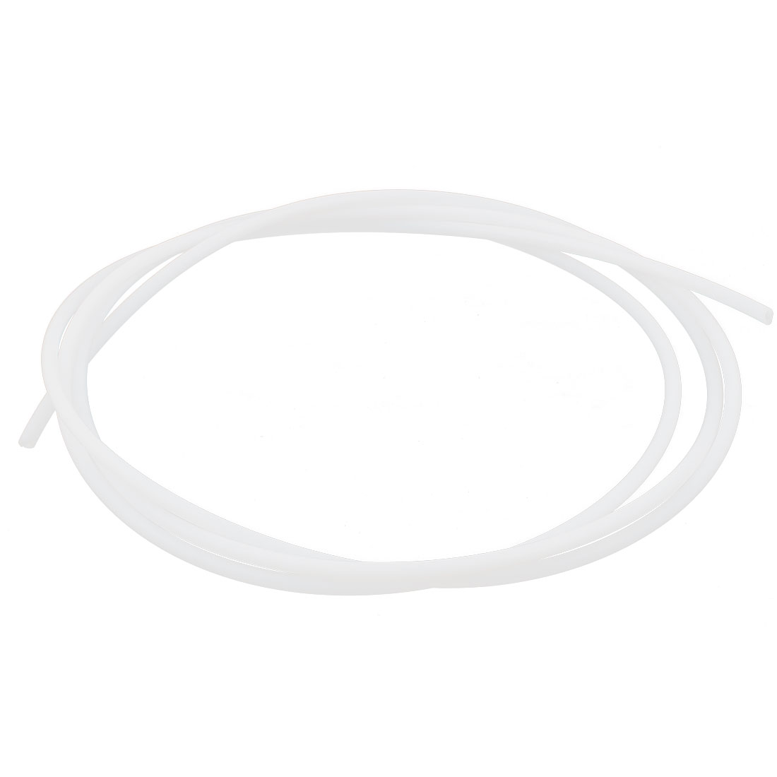 2M Length 1mm ID 2mm OD PTFE Tubing Tube Pipe for 3D Printer RepRap