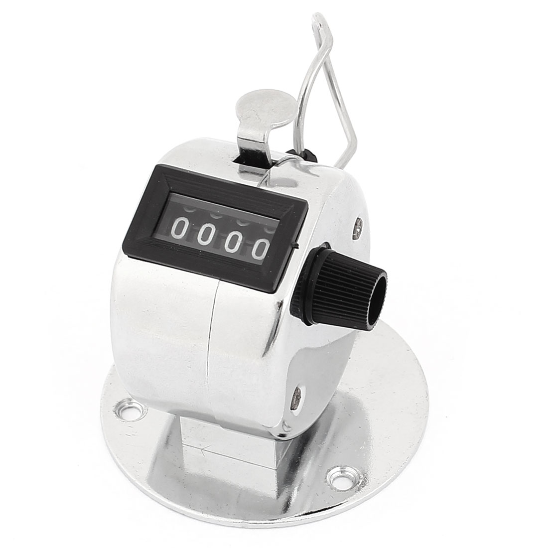 Portable Hand Tally Mechanic Counter 4 Digit Number Arithmometer