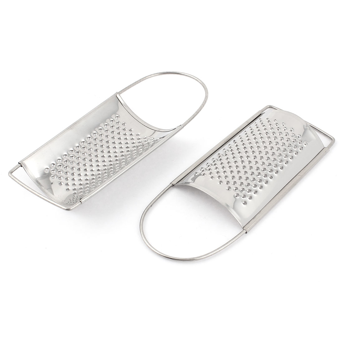 Stainless Steel Ginger Cheese Fine Grater Shredder Kitchenware 2pcs