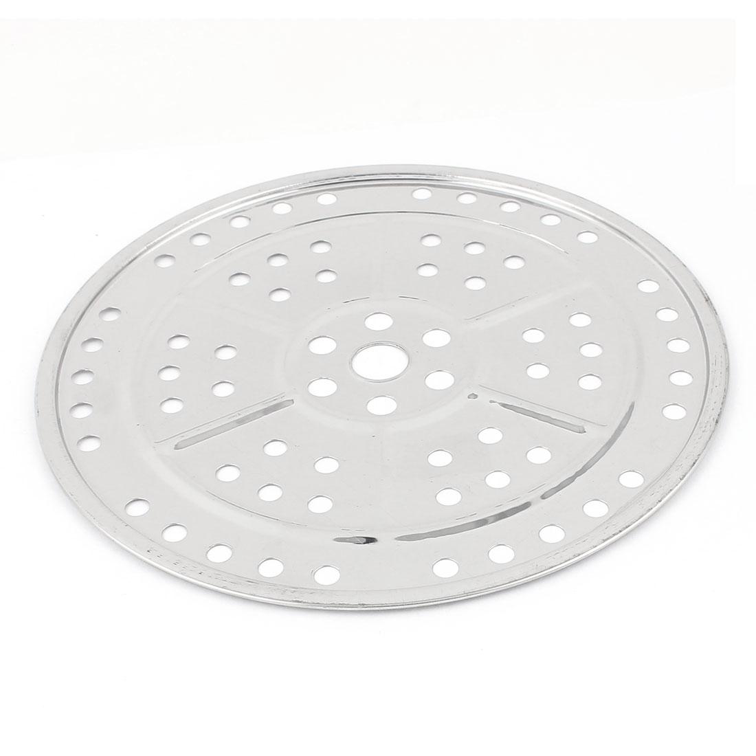 Stockpot Tamales Flour Bun Food Steaming Steamer Rack Insert Plate 24cm Dia