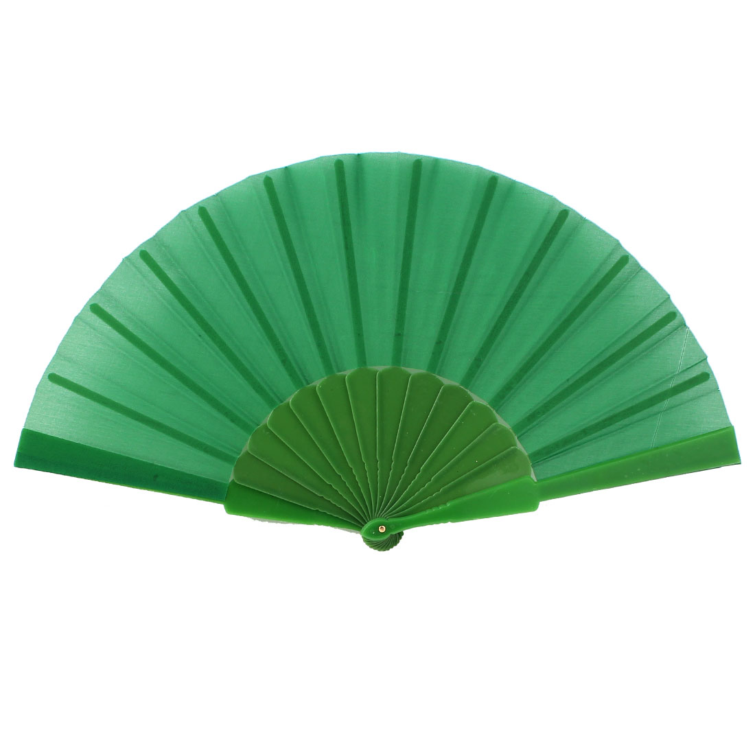 Chinese Japanese Style Handheld Folding Hand Fan Wedding Party Gift Green