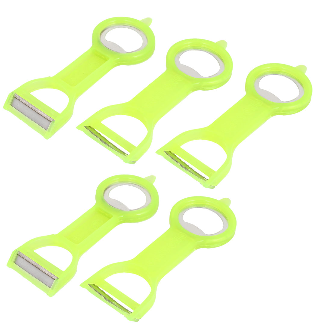 Home Kitchen Fruit Vegetable Peelers Parer Cutlery Bottle Opener 5pcs