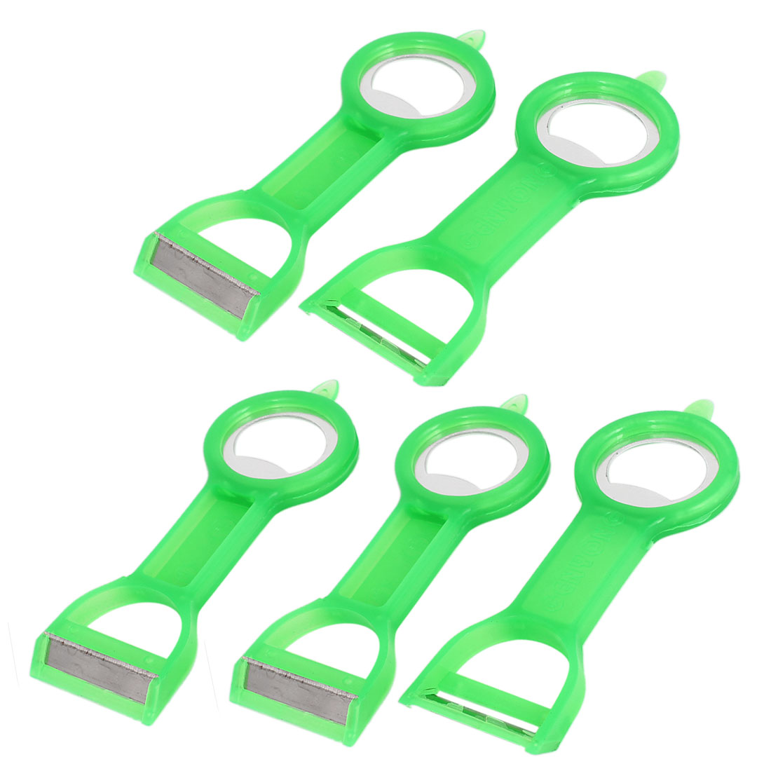 5pcs Home Kitchen Fruit Vegetable Peelers Parers Bottle Opener Tool
