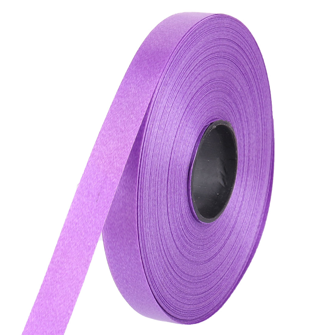 1/2 Inch Wide Polyester Solid Satin Ribbon Roll 30M 33 Yard Purple