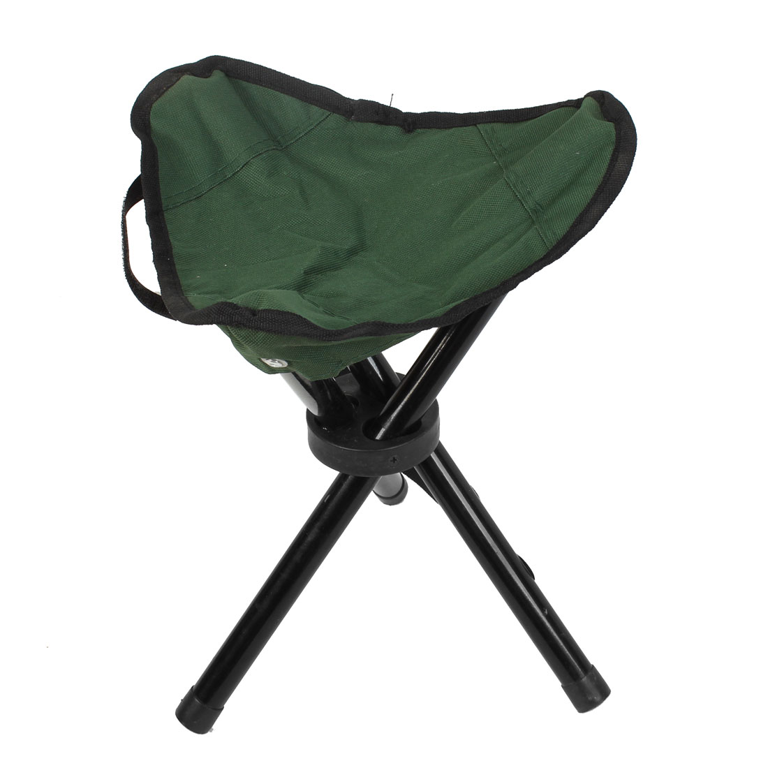 Outdoor Travel Camping Fishing Folding Tripod Stool Chair Seat Army Green