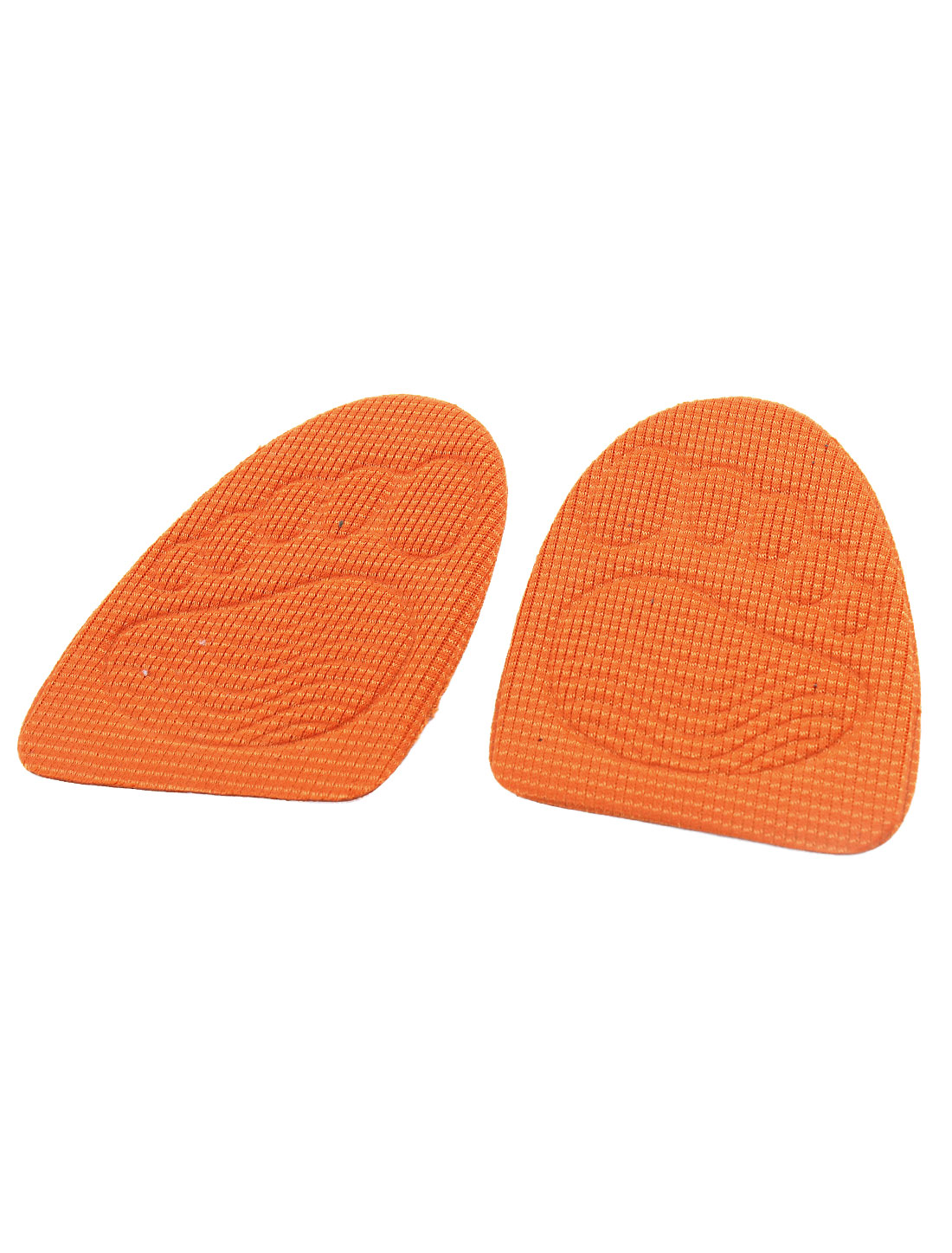 High-heeled Shoes Foresole Heel Lifts Height Inserts Insole Pair Orange