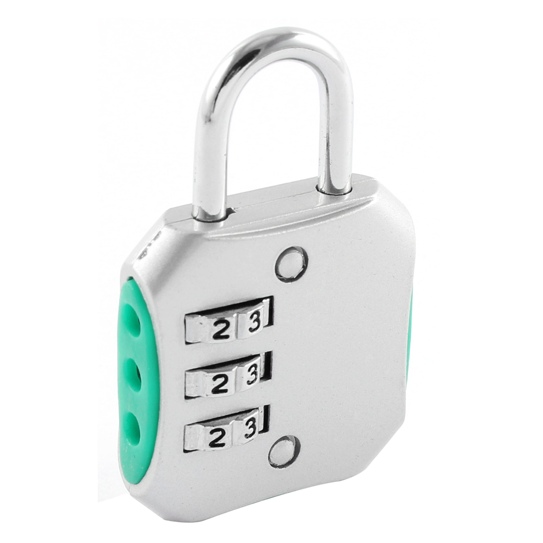 Suitcase Luggage 3 Dial Resettable Digit Password Combination Lock Padlock