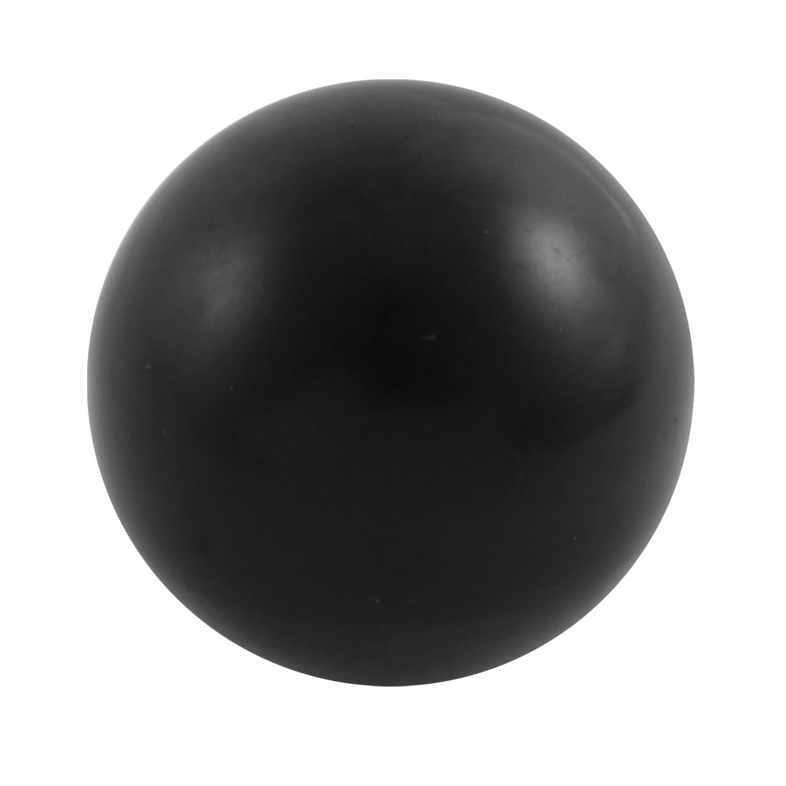 M16 x 40mm Female Thread Round 50mm Diameter Ball Lever Knob Black