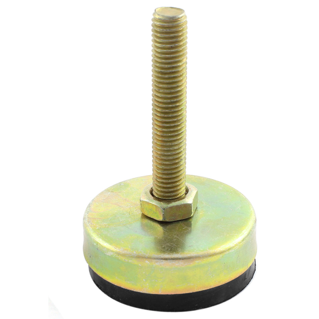Machine Furniture M12 x 70mm Thread 60mm Base Leveling Foot Mount