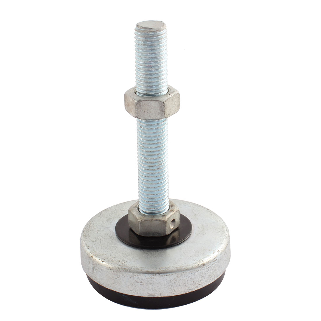 Machine Furniture M16 x 100mm Thread 80mm Base Leveling Foot Mount