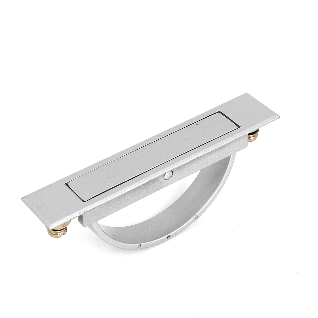 D Shaped Rotatable Cabinet Drawer Cupboard Door Pull Handle Grip