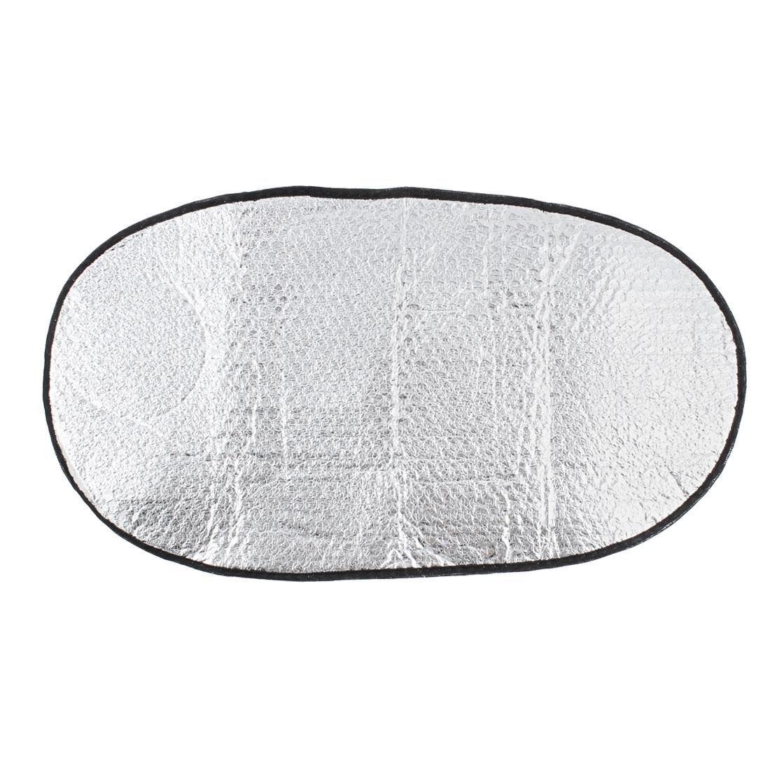 Motorcycle Heat Insulation Pad Aluminum Foil Waterproof Cushion Mat Seat Cover 60cm x 36cm