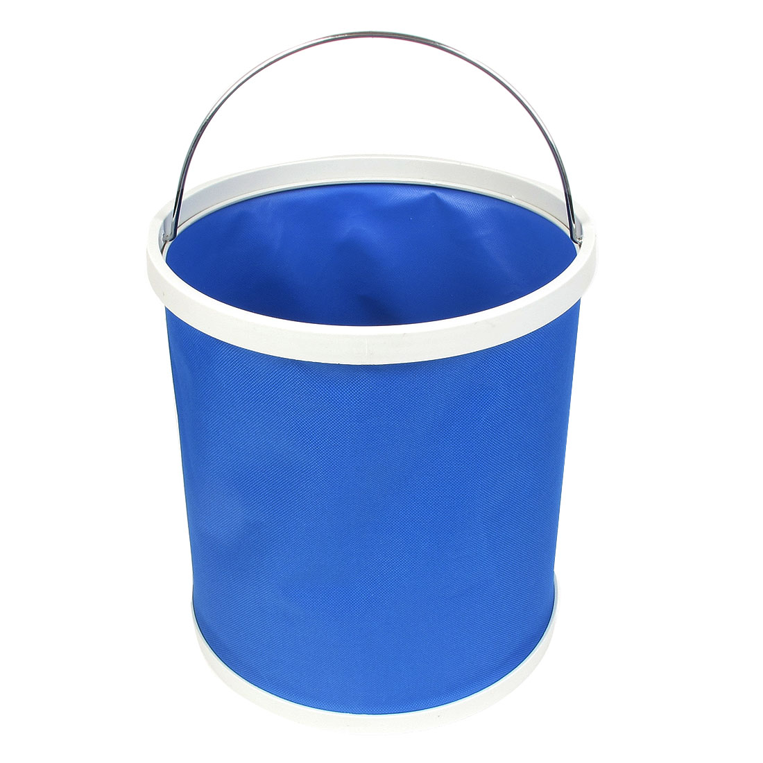 Outdoor Camping Car Washing Fishing Hiking Folding Bucket Barrel Water Pail 9L