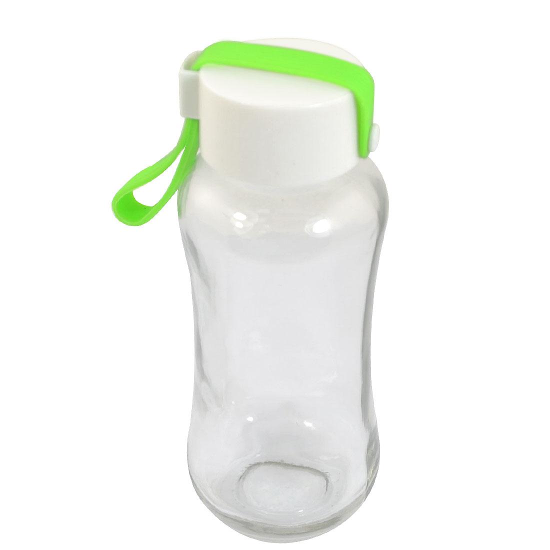 Travel Green Nylon Protect Sleeve Shatterproof Glass Water Bottle Cup Mug 250ML