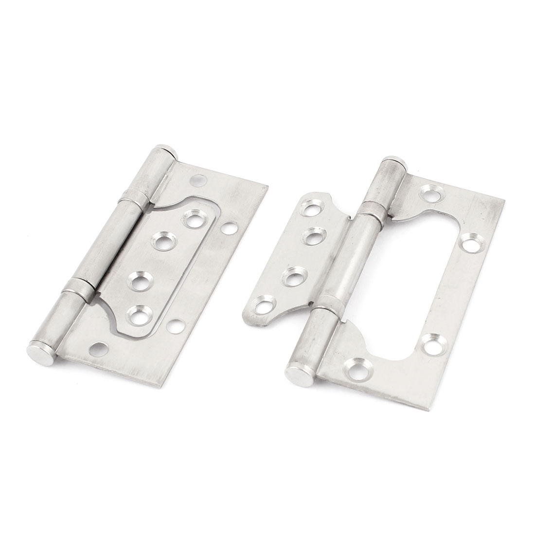 "2pcs 4"" Long Stainless Steel Bearing Lash Hinge for Door Cabinet Drawer Cupboard"