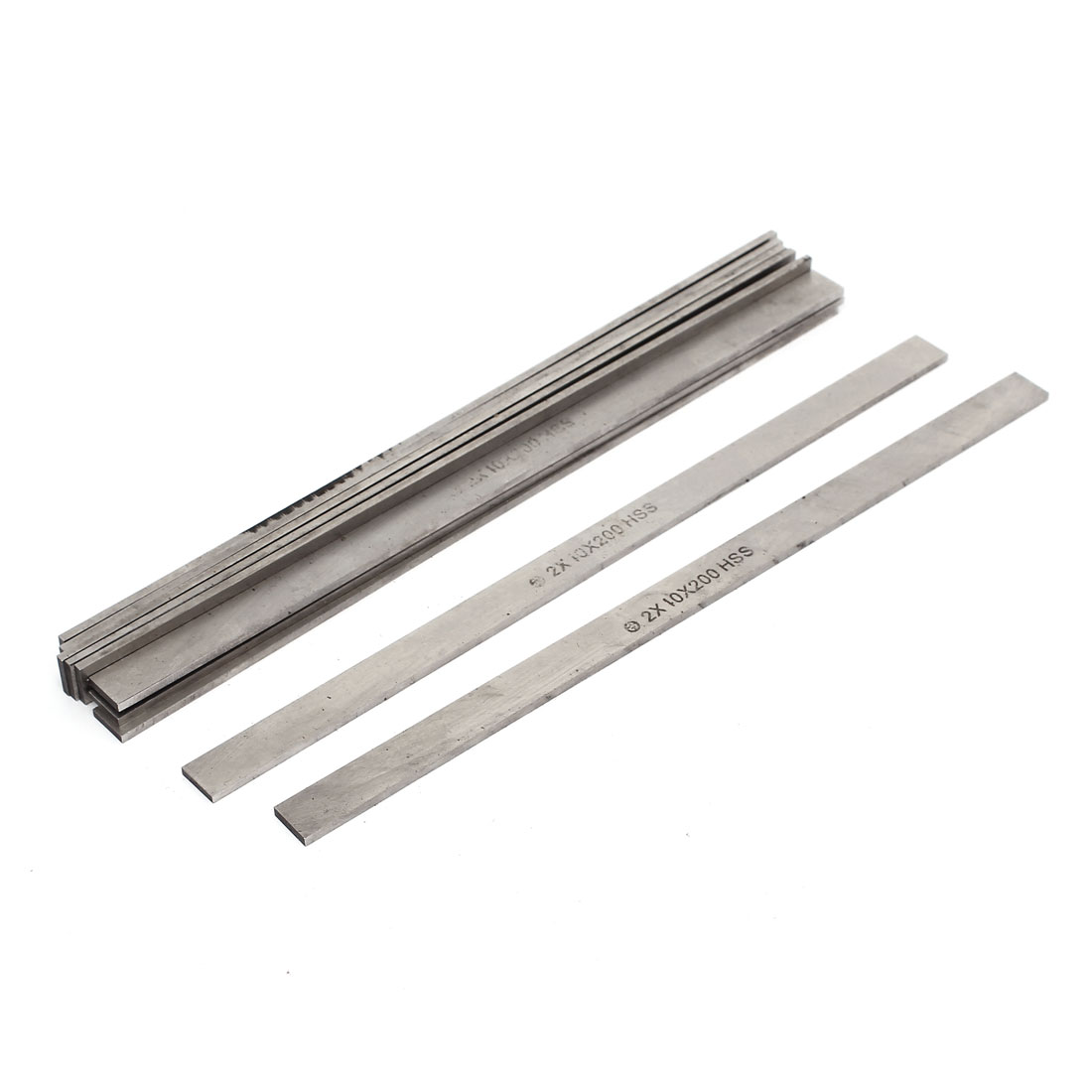 2mmx10mmx200mm Turning Parting Milling Lathe Cutting Boring HSS Tool Bits 10 Pcs