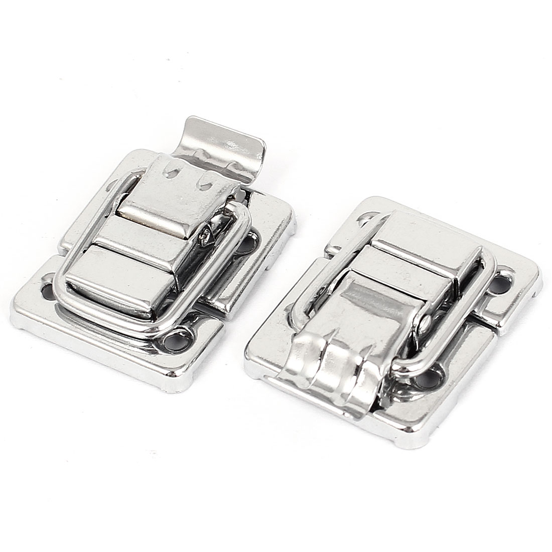 2 Pcs 43mmx30mm Toggle Catch Latch Trunk Chest Boxes Suitcase Clip Clasp