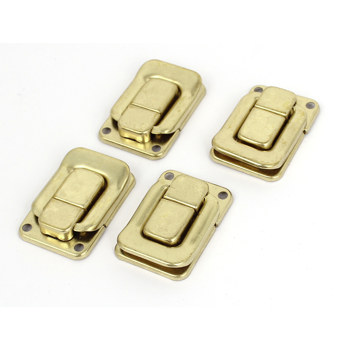 Case Box Chest Suitcase Trunk Toggle Catch Latch Clasp Hardware Gold Tone 4 Pcs